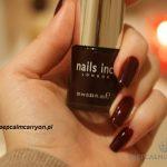 lakieromania: czerwone wino Victoria od Nails Inc.