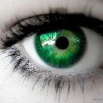 Kolor oka, a makijaż cz.2  – oczy zielone