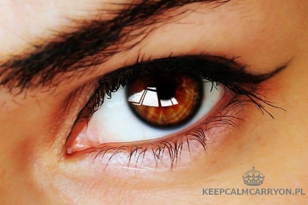 keepcalmcarryon-oczy brązowe