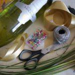 DIY: dekoracja na butelkę