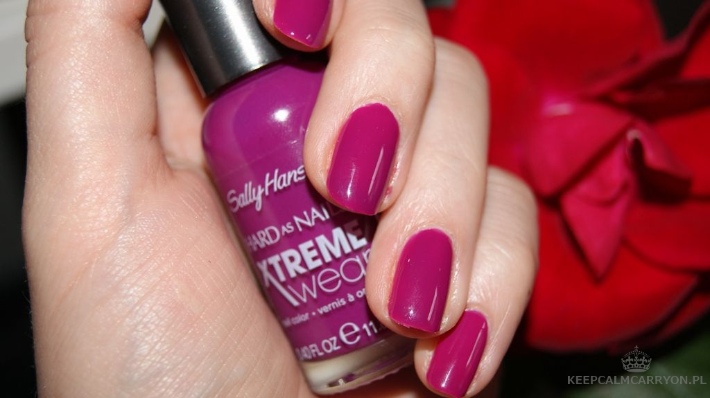 keepcalmcarryon-lakieromania sally hansen plum (2)