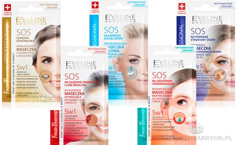 maseczki-sos-eveline-cosmetics